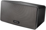 Sonos PLAY:3 I Vielseitiger Multiroom Smart Speaker für Wireless Music Streaming (schwarz) - 1