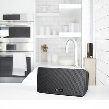 Sonos PLAY:3 I Vielseitiger Multiroom Smart Speaker für Wireless Music Streaming (schwarz) - 5