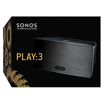 Sonos PLAY:3 I Vielseitiger Multiroom Smart Speaker für Wireless Music Streaming (schwarz) - 6