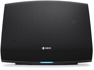 Heos 5 Audio-Streaming Lautsprecher Denon Multiroom (Spotify Connect, Deezer, Tidal, Soundcloud, NAS, WLAN, USB, Appsteuerung, Aux-In) schwarz - 6