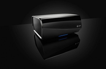 Heos LINK Audio-Streaming Client Vorverstärker Denon Multiroom (Spotify Connect, Deezer, Tidal, Soundcloud, NAS, WLAN, USB, Appsteuerung, Aux-In, Digitaleringang, Regelbarer/fixer Ausgang) schwarz - 3